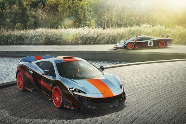 マクラーレン、あるオーナーの注文により「F1 GTR」のガルフオイル・カラーを忠実に再現した「675LT」を製作