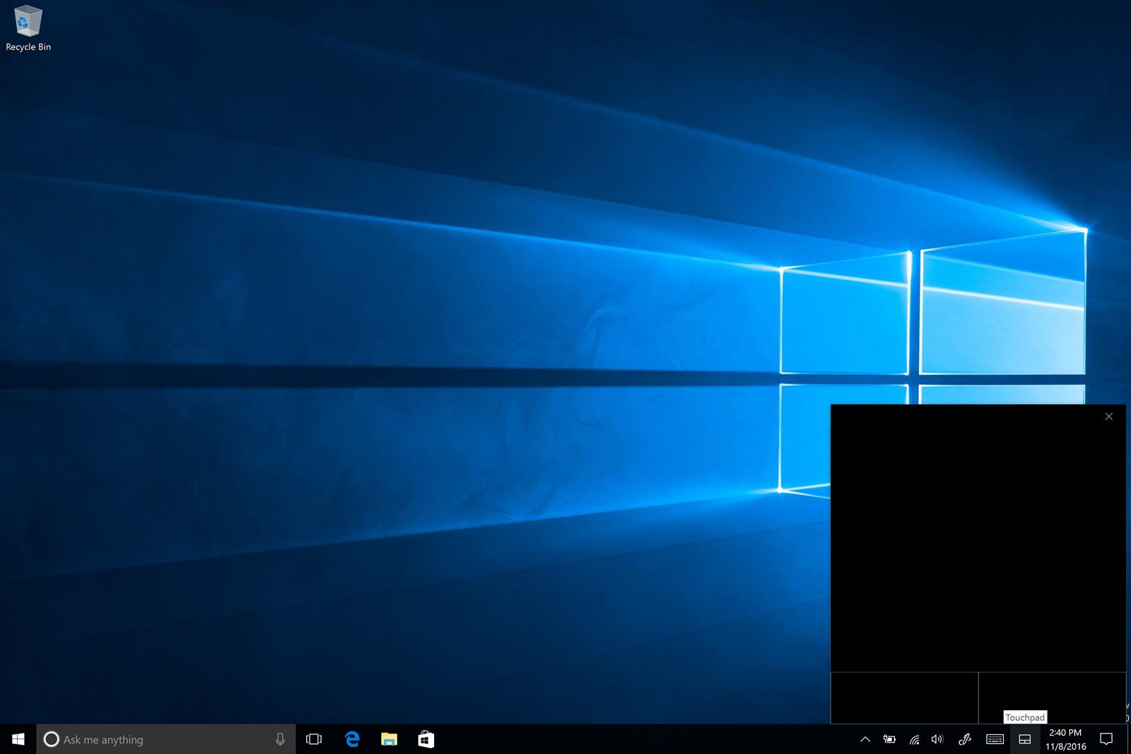 Windows 10 的虛擬觸控板讓平板也能兼差滑鼠