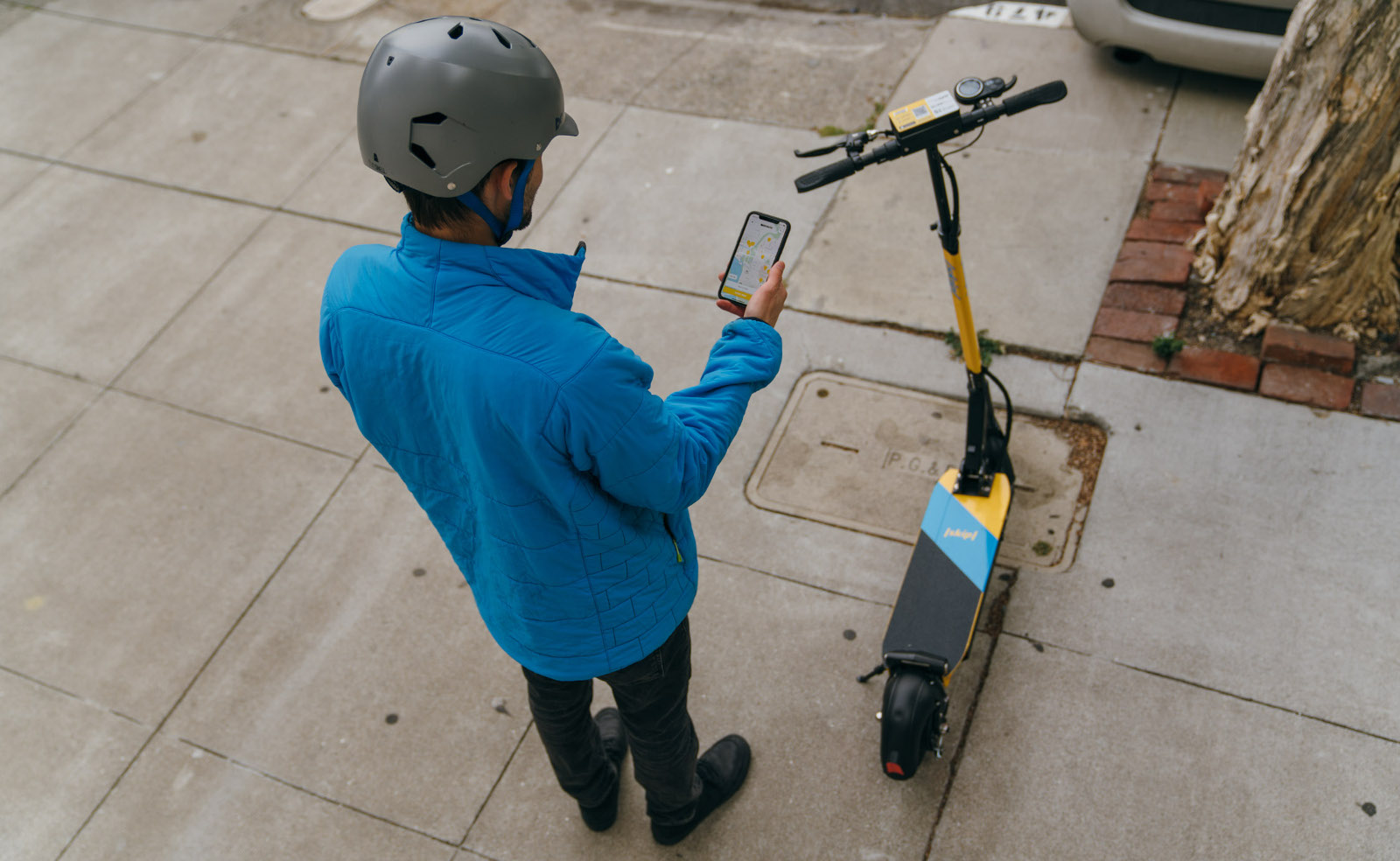 A new electric scooter-sharing service called Skip has launched in  Washington DC, promising sturdier and safer boards than its competitors'.