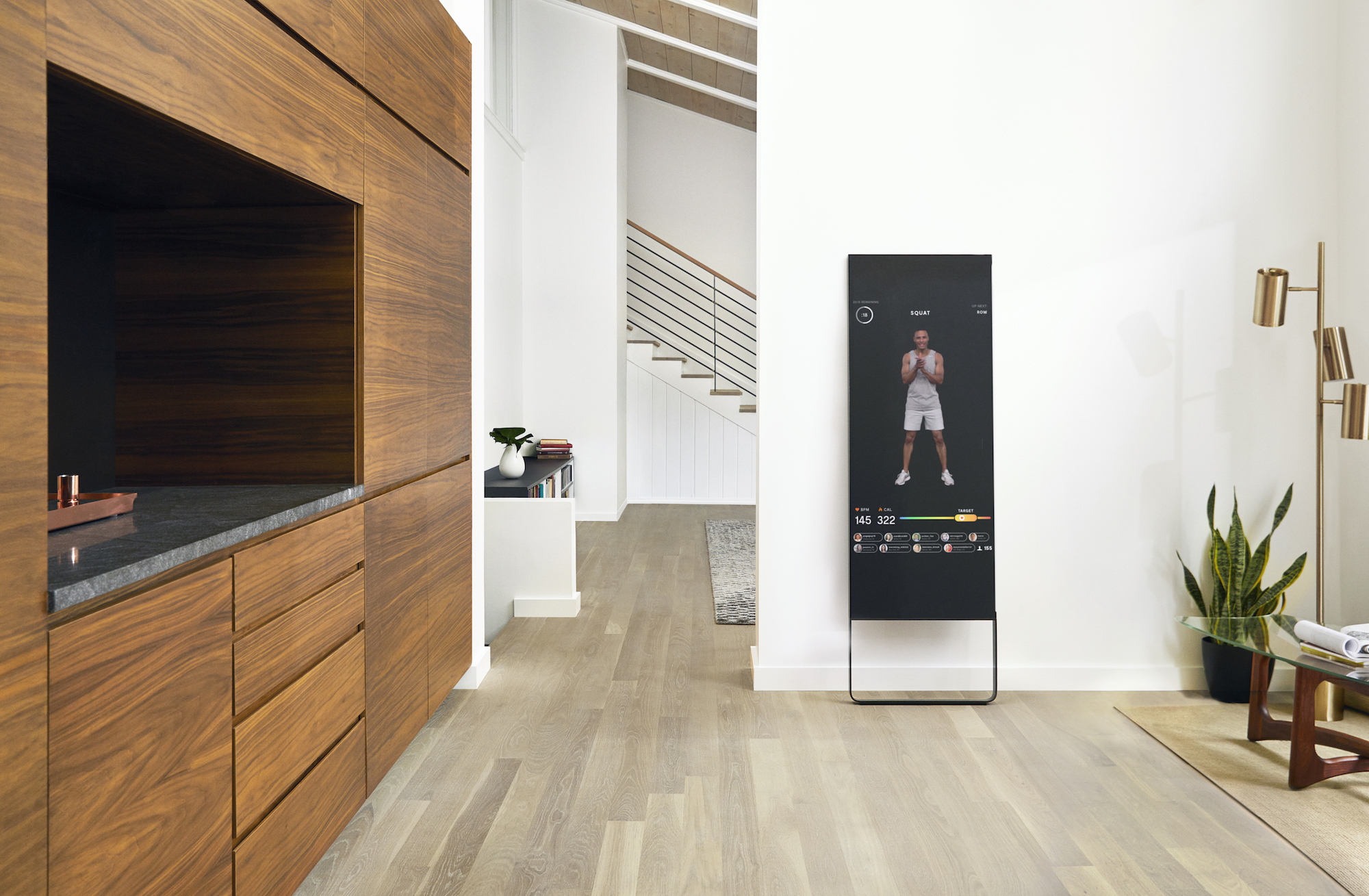 Astonishing A 1 500 Smart Mirror Brings Live Fitness Classes To Your Home Download Free Architecture Designs Rallybritishbridgeorg