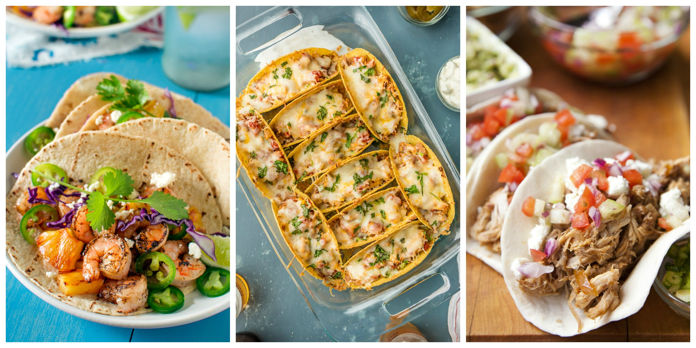 Good Eats Taco Tuesday recipes