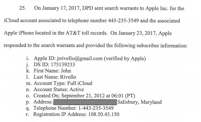 iCloud led authorities to journalist's Twitter attacker