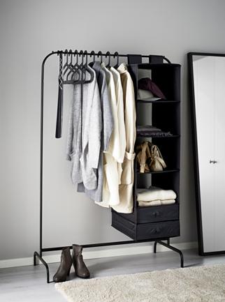 Ikea mulig clothes rack