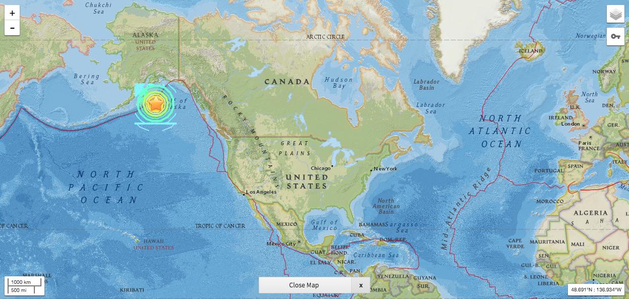 La noche de terremoto de 7.9 y alerta de tsunami en la península de