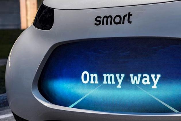 スマートが自動運転機能を搭載する電気自動車のコンセプトカーをチラ見せ! メルセデス「EQ」のパワートレインを搭載