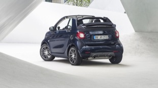 smart BRABUS cabrio Xclusive, 2016, tailor made dark blue shiny
