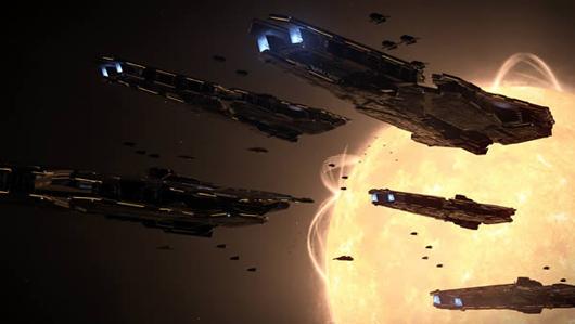 frontier teases elite dangerous trailer gives away old school