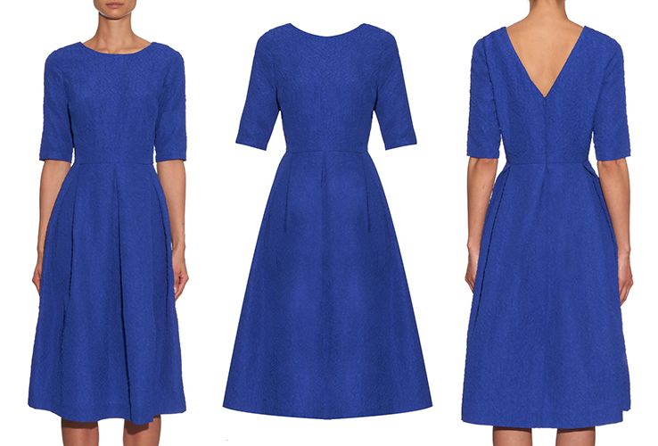 Saloni blue dress Kate Middleton