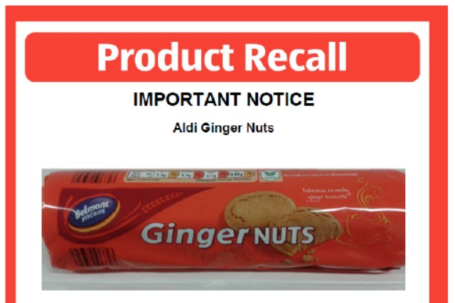 Biscuits recalled