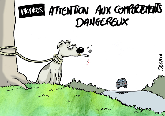 Ce que le comportement des Français en vacances provoque chaque