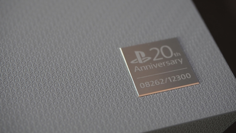 The playstation 4 20th anniversary edition combines sleek ps4.