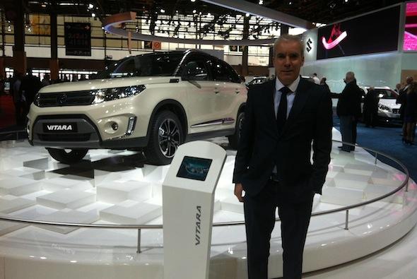 Suzuki at Paris motor show