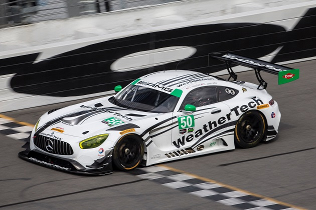 「メルセデスAMG GT3」、2017年のIMSA ウェザーテック・スポーツカー選手権GTDクラスに参戦