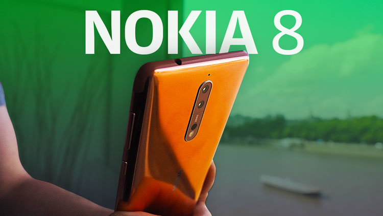 Nokia 8 first look