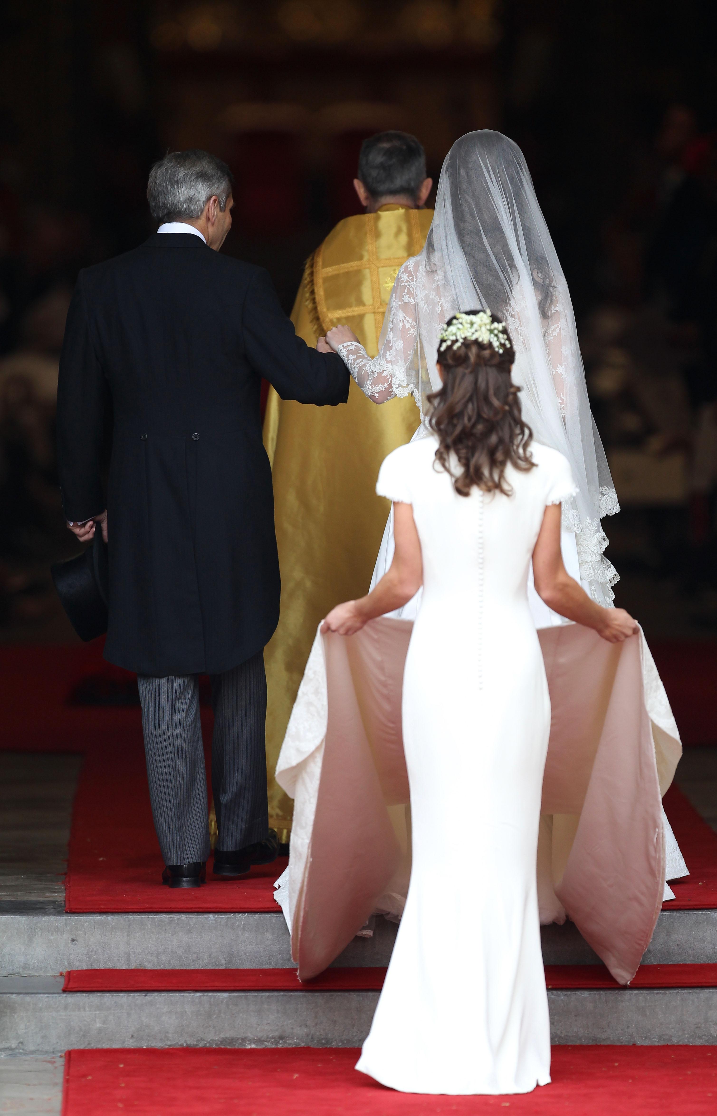 Pippa Middleton at Kate Middleton's wedding