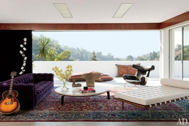 Adam Levine living room