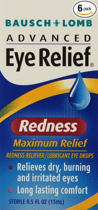 Eye redness relief drops
