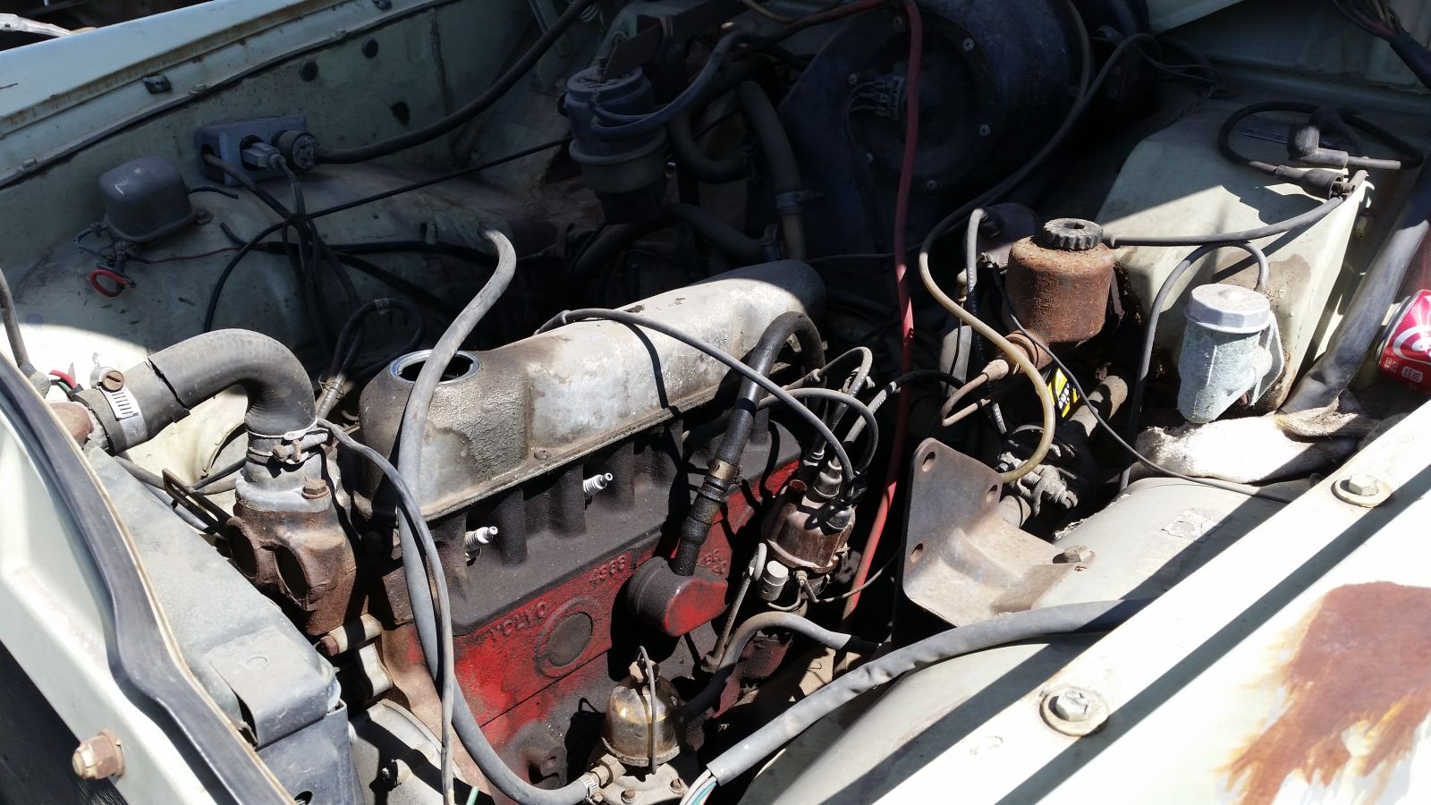 1967 Volvo 122S in Colorado junkyard