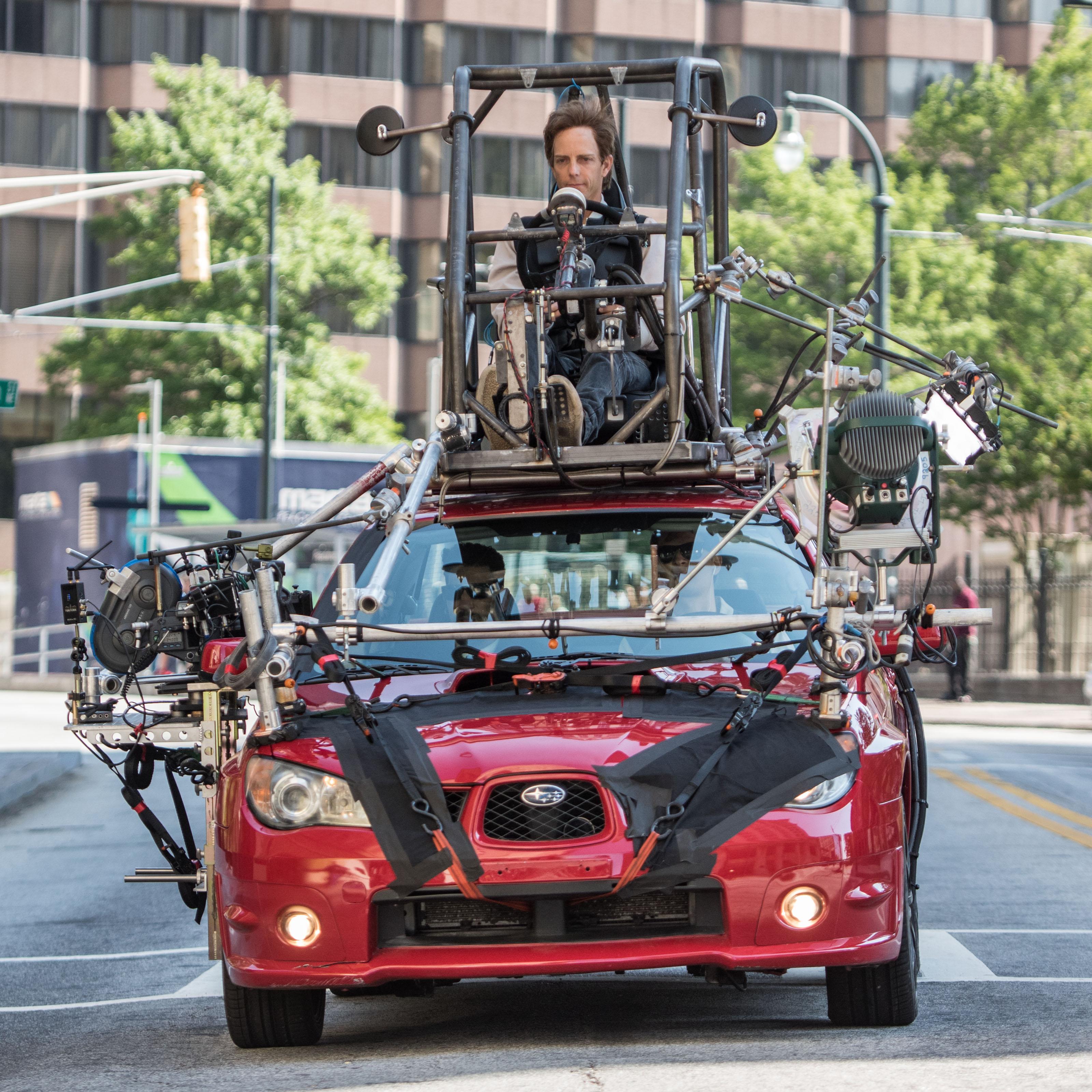 Custom Subaru Impreza for Baby Driver filming