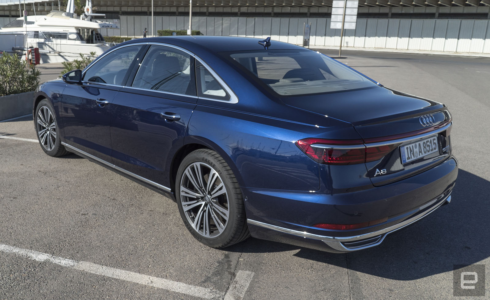 Audi audi a8 : Audi's flagship A8 has an overwhelming amount of tech