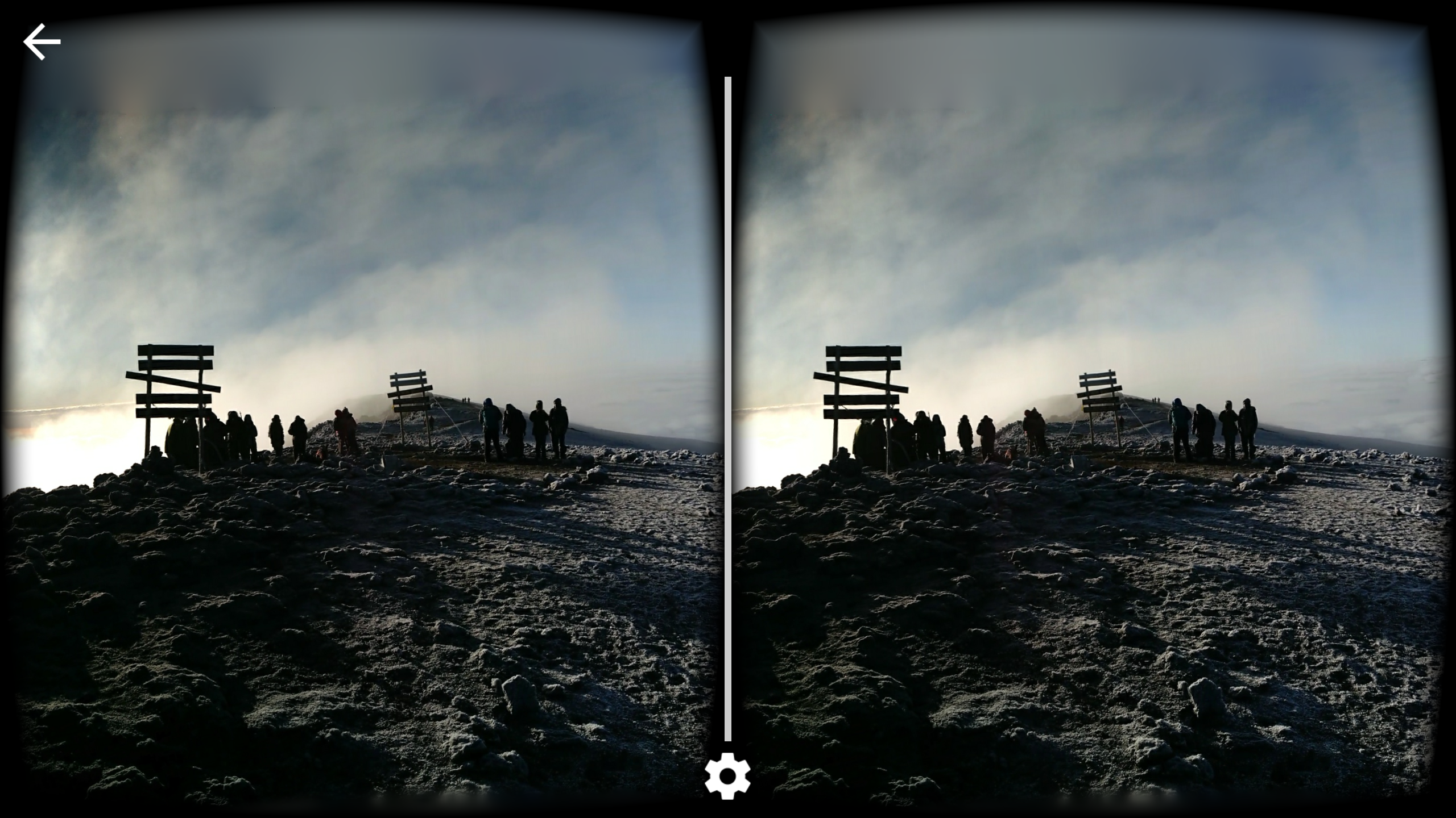 mike podwal a product manager for cardboard tells me that the app is able to transform those panoramic photos into 3d via some computational software and