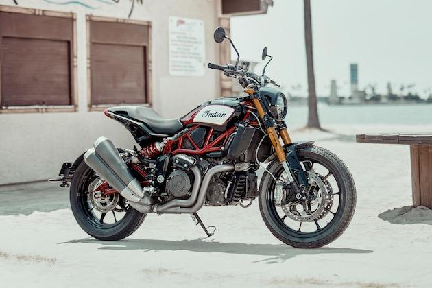 インディアン・モーターサイクル、フラット・トラックにインスパイアされた2台の新型バイク「FTR 1200」「FTR 1200 S」を公開
