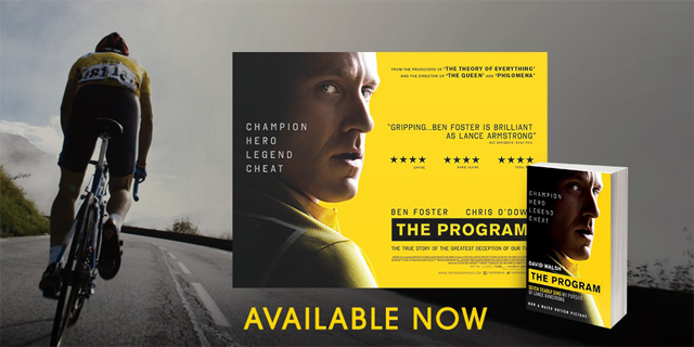The Program poster and book