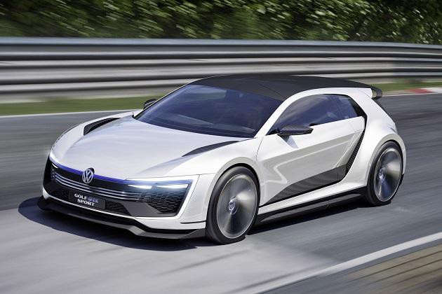 フォルクスワーゲンの新型コンセプトカー「ゴルフ GTE スポーツ」が公開