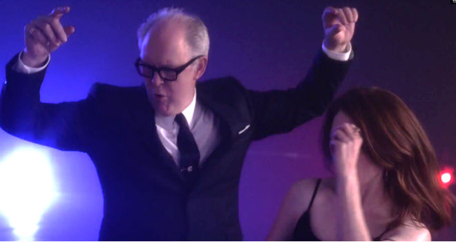 john lithgow and julianne moore dance