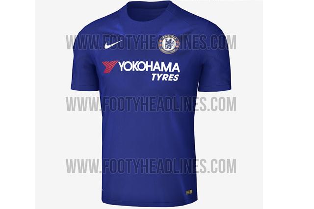 Leaked Chelsea Home shirt 2017/18
