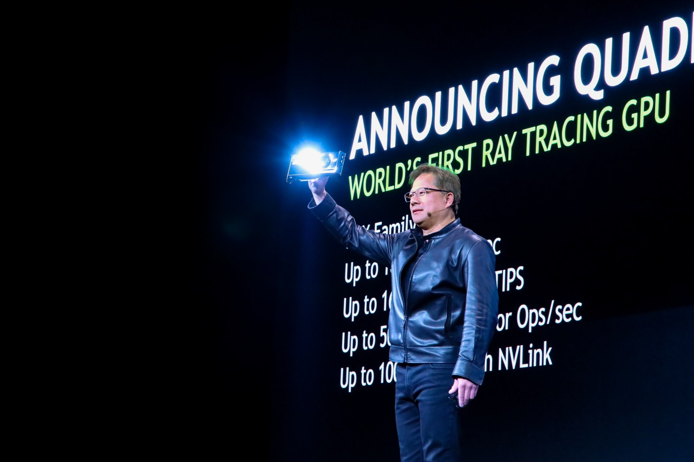 NVIDIA's Turing-powered GPUs are the first ever built for ray tracing