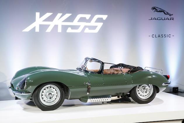 ジャガー、60年ぶりに再生産された幻のスポーツカー「XKSS」をLAオートショーで公開