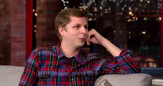 Michael Cera, Late Show, David Letterman, Letterman