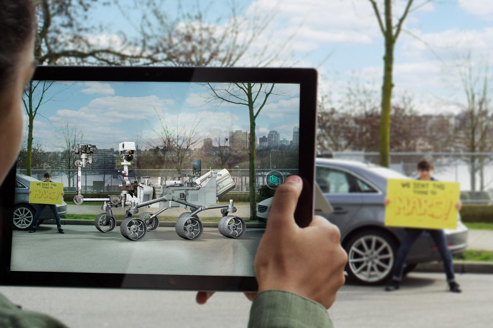 微軟開發只要普通 Webcam 就可以看到混合實境的技術
