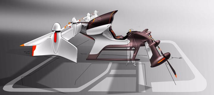 Vahana self-flying vehicle