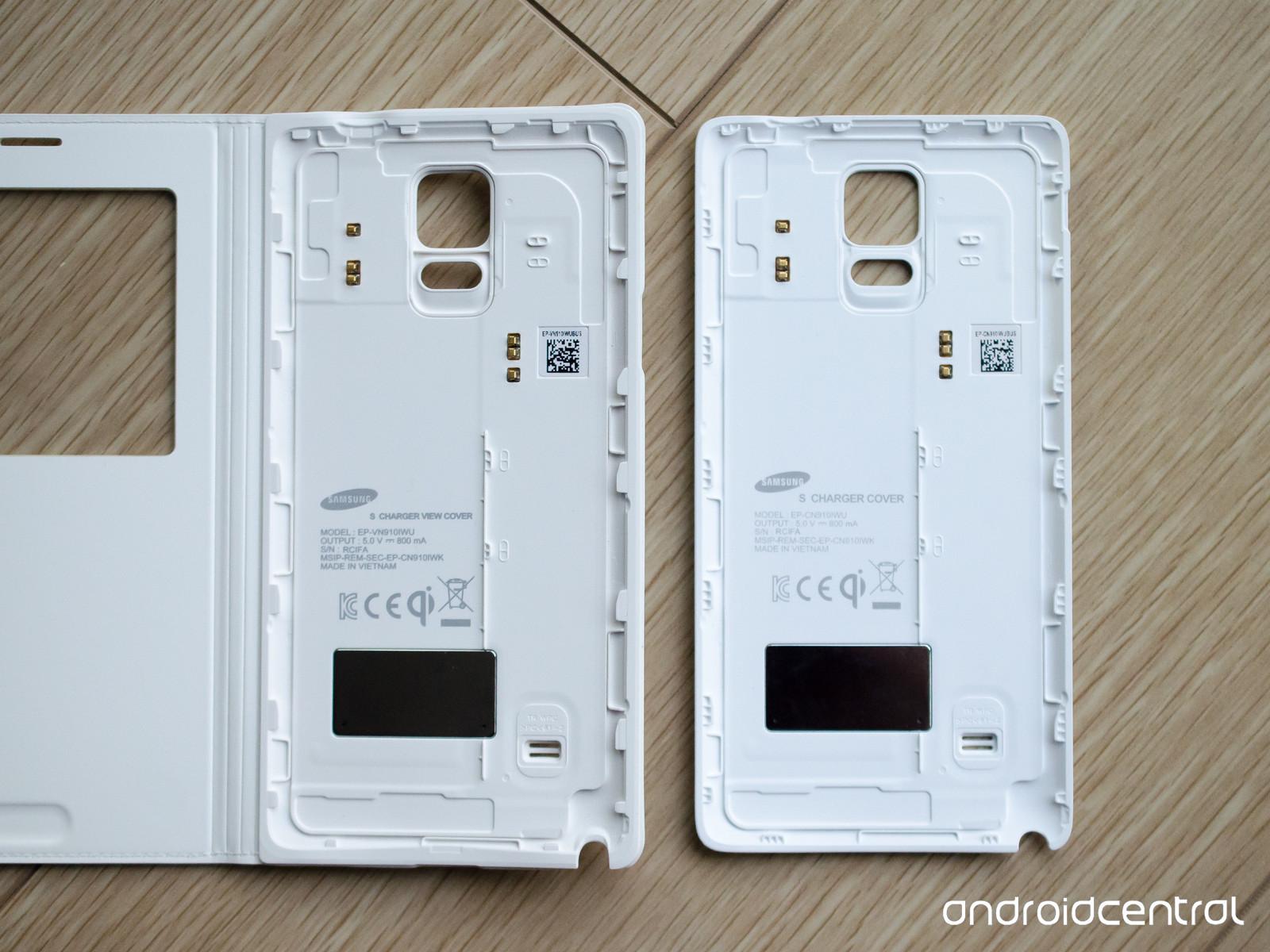 939436e7d94 El Note 4 recibe carga inalámbrica gracias a las carcasas Qi oficiales