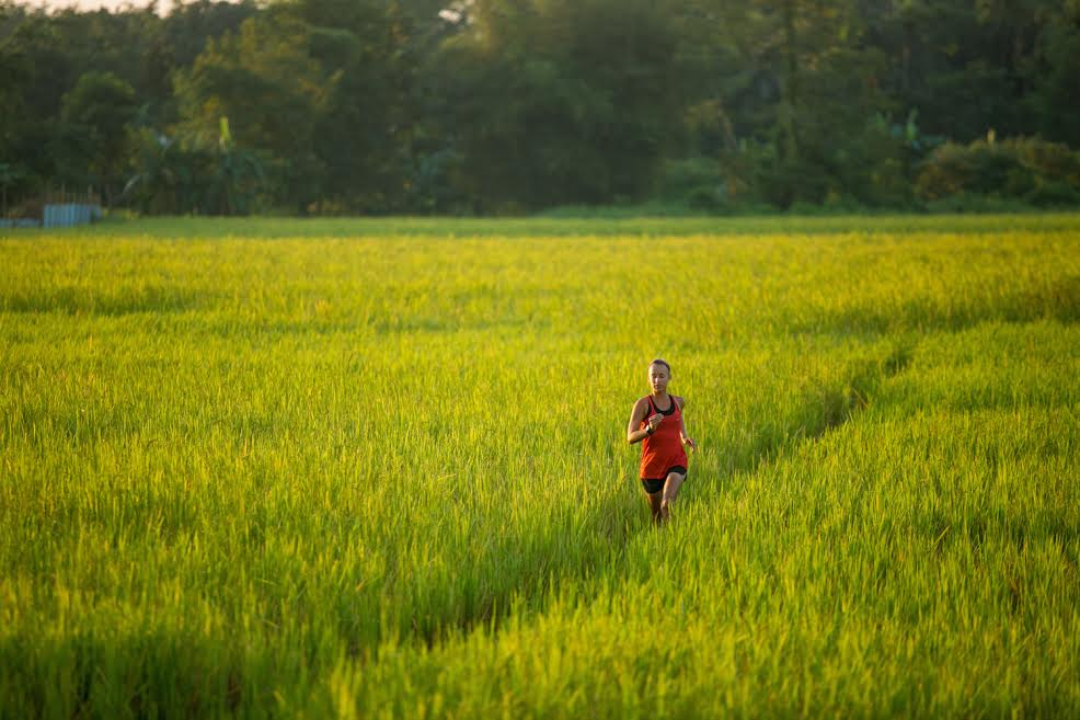 Samantha Gash running across India for World Vision