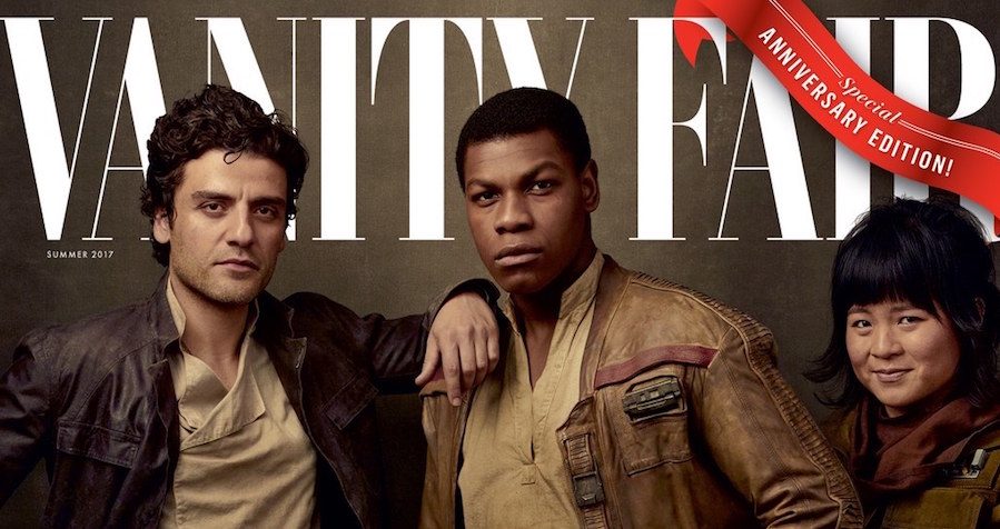 Vanity Fair Unveils 4 'Star Wars: The Last Jedi' Covers, Teases New Character Rose Tico