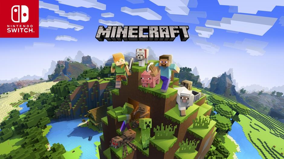 Minecraft Update Brings Crossplatform Play To Nintendo Switch June - Minecraft spiele switch