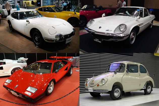 東京モーターショー60周年記念パレードを銀座で開催 自動車メーカー社長も自社の名車をドライブ