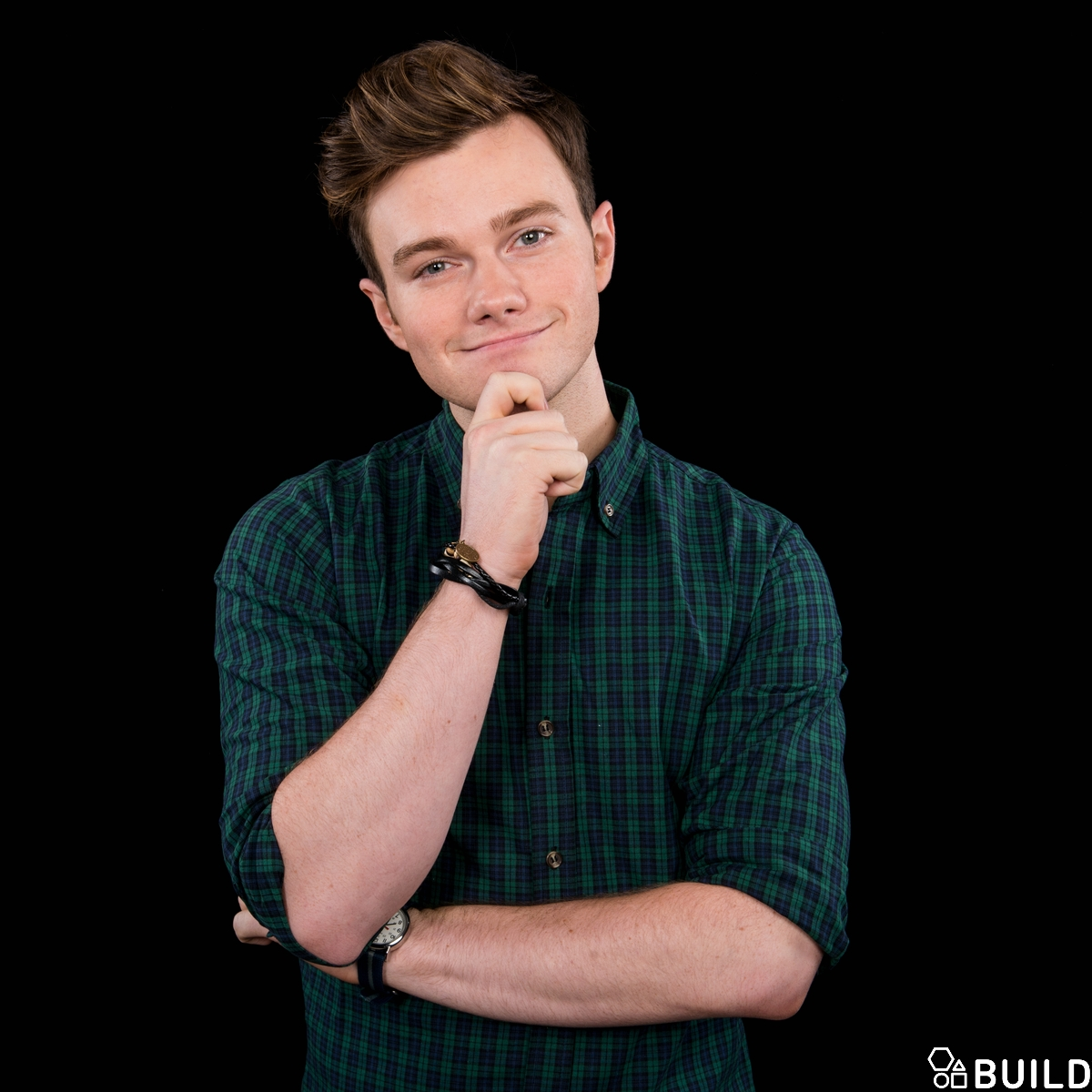 Chris Colfer visits AOL Hq for Build on July 12, 2016 in New York. Photos by Noam Galai