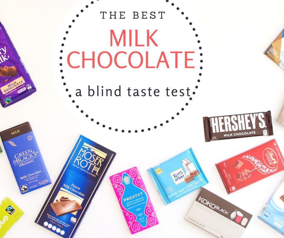Best Milk Chocolate Taste Test