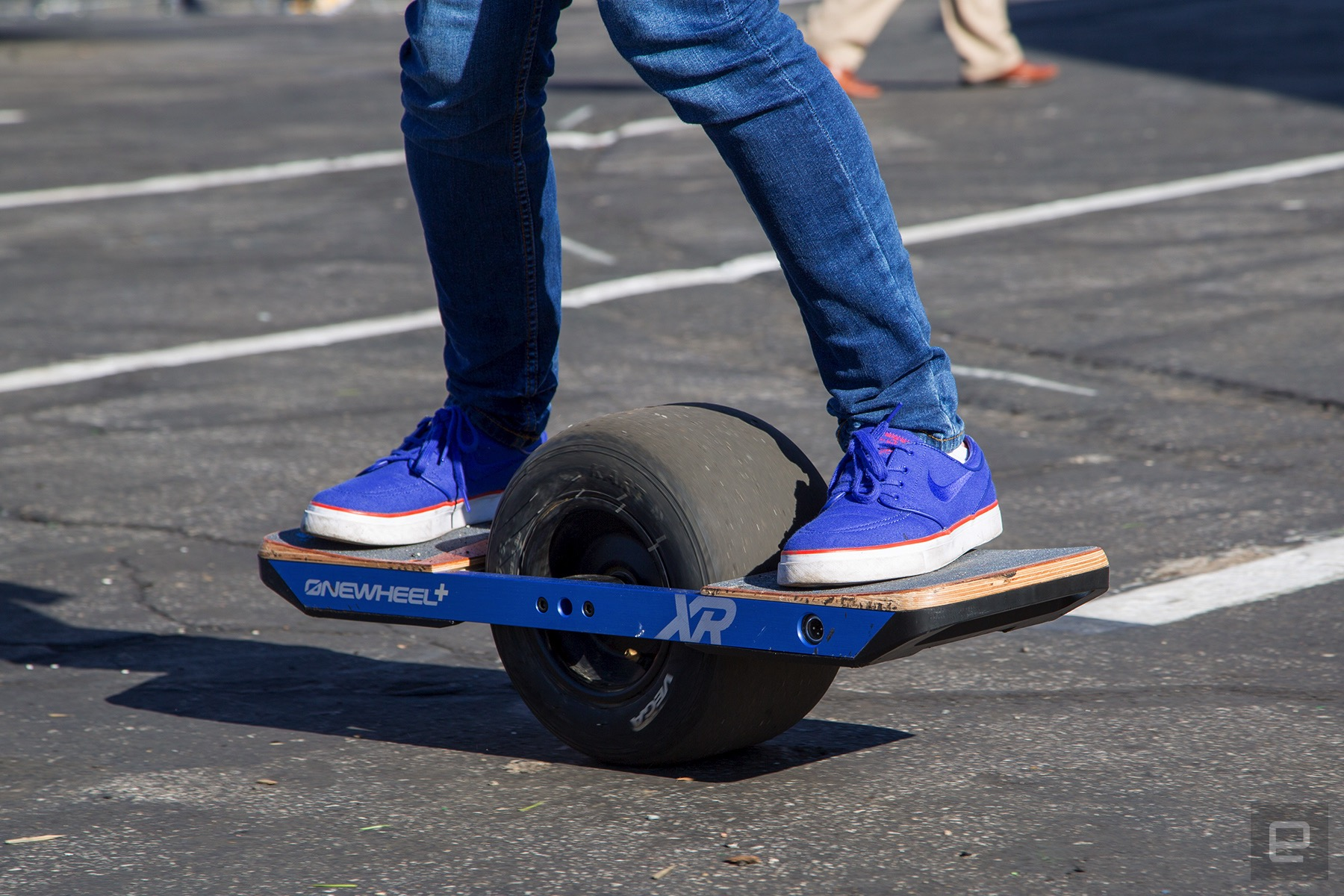Cruising around on the Onewheel+ XR