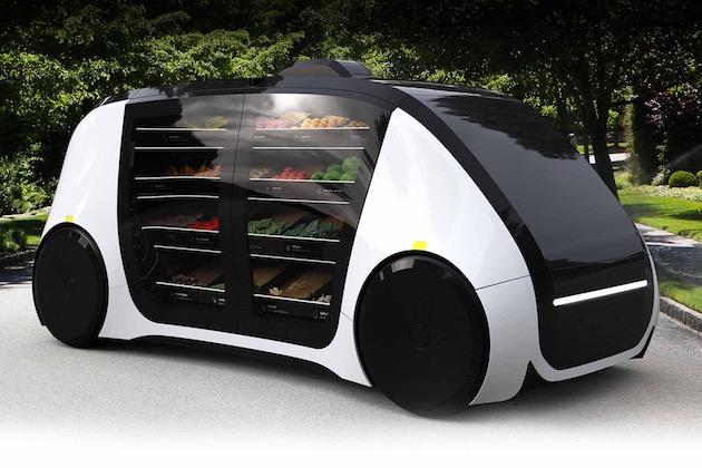 【ビデオ】完全自動運転で食料品を届けてくれる無人移動店舗「ロボマート」