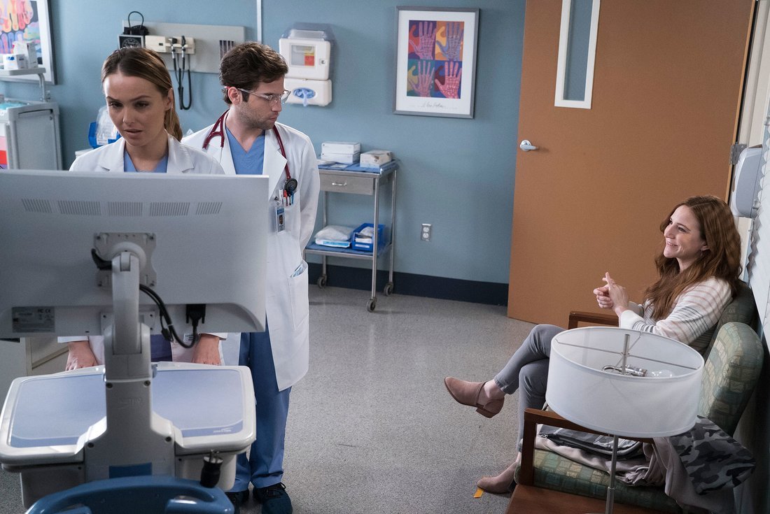 "GREY'S ANATOMY - ""Judgement Day"" (ABC/Byron Cohen) CAMILLA LUDDINGTON, JAKE BORELLI, SARAH UTTERBACK"