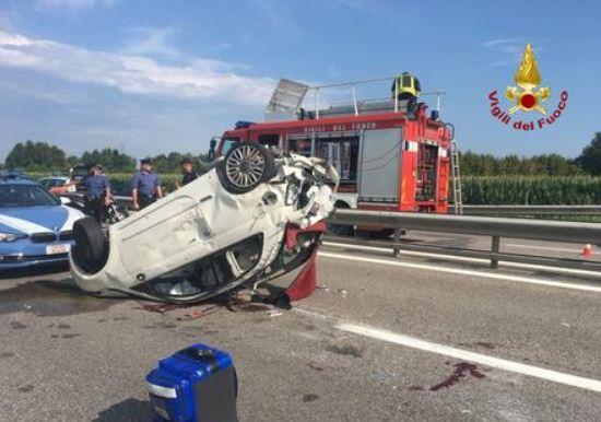 E' morta la 53enne investita in A4 da Marco Paolini
