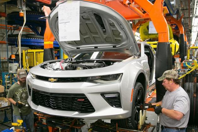 GMが、6代目となる新型シボレー「カマロ」の米工場に約220億円を投資