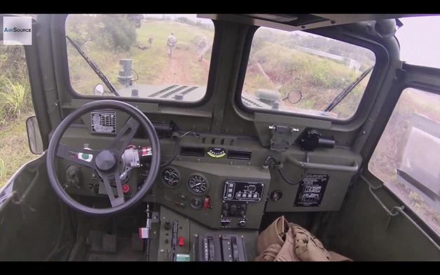 【ビデオ】米海兵隊が開発に意欲を見せるGUSS(無人軍用車両)