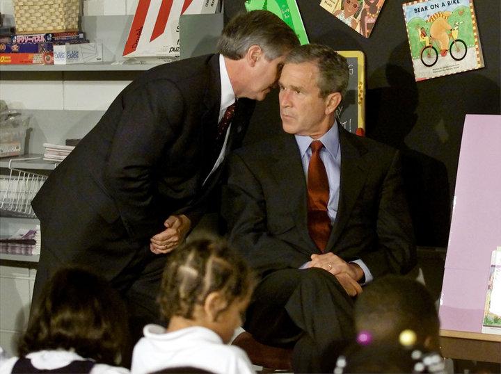 El expresidente George Bush compartió después a una publicación que no fue hasta que el jefe de gabinete...