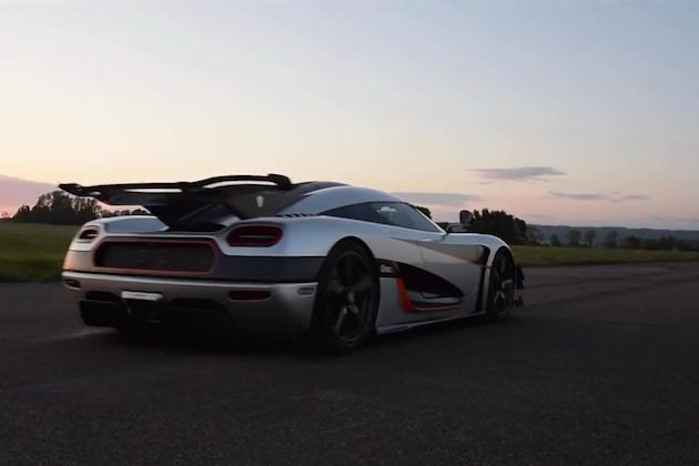【ビデオ】ケーニグセグ「アゲーラ One:1」が、0-300-0km/hの最速記録を達成